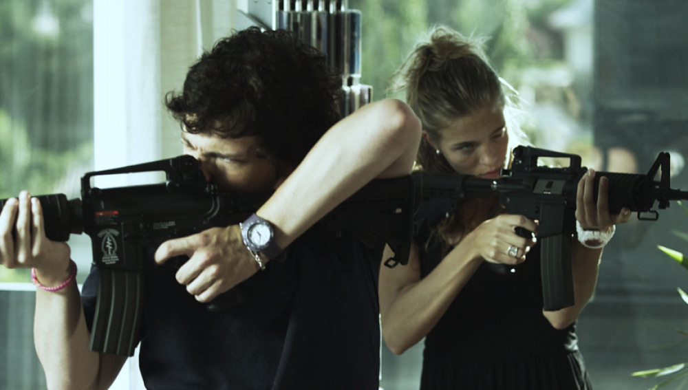 Adam Jezierski y Patricia Montero