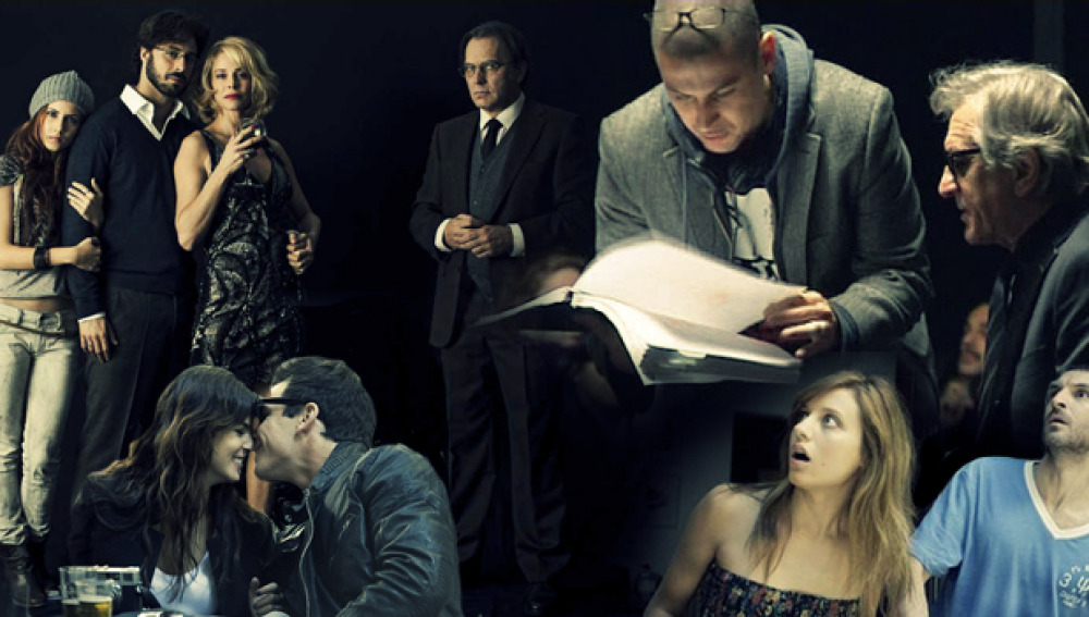Montaje de Antena 3 Films 2012