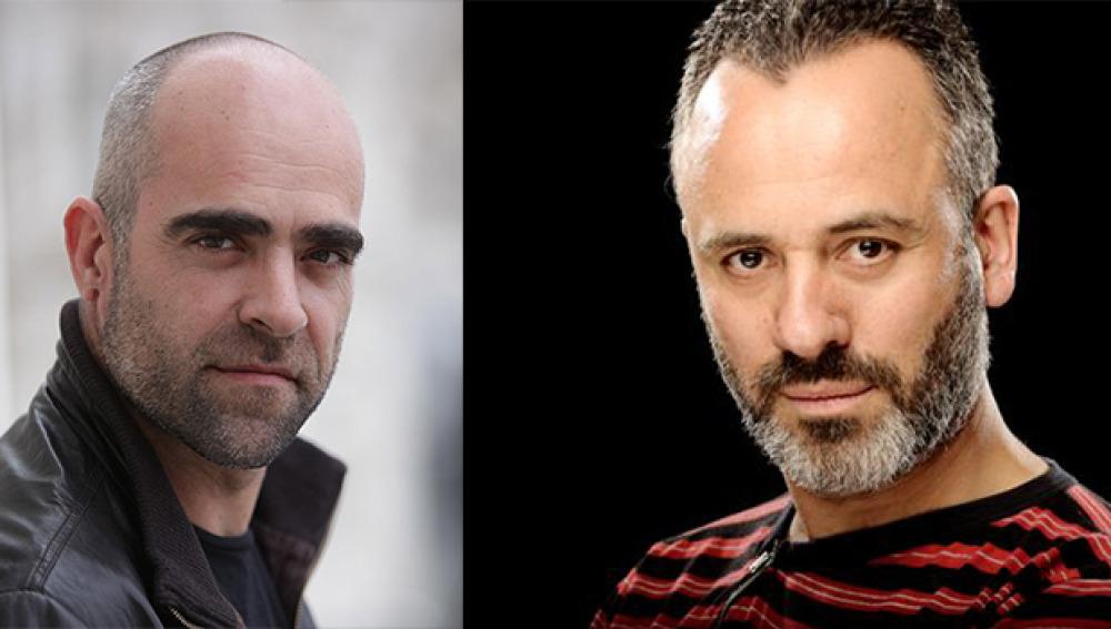 Luis Tosar y Javier Gutiérrez, protagonistas de 'Plan de fuga'