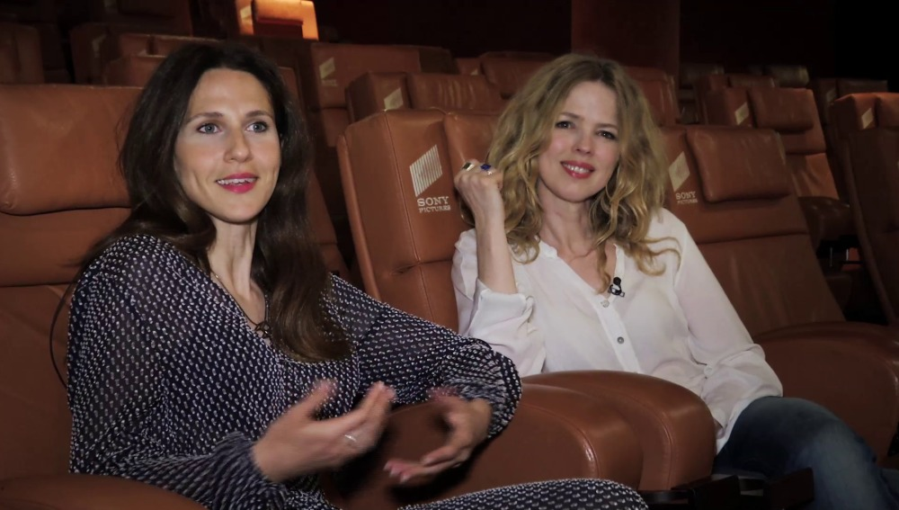 Manuela Burló Moreno y Chritina Rosenvigne