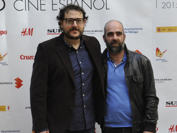 Dani de la Torre y Luis Tosar