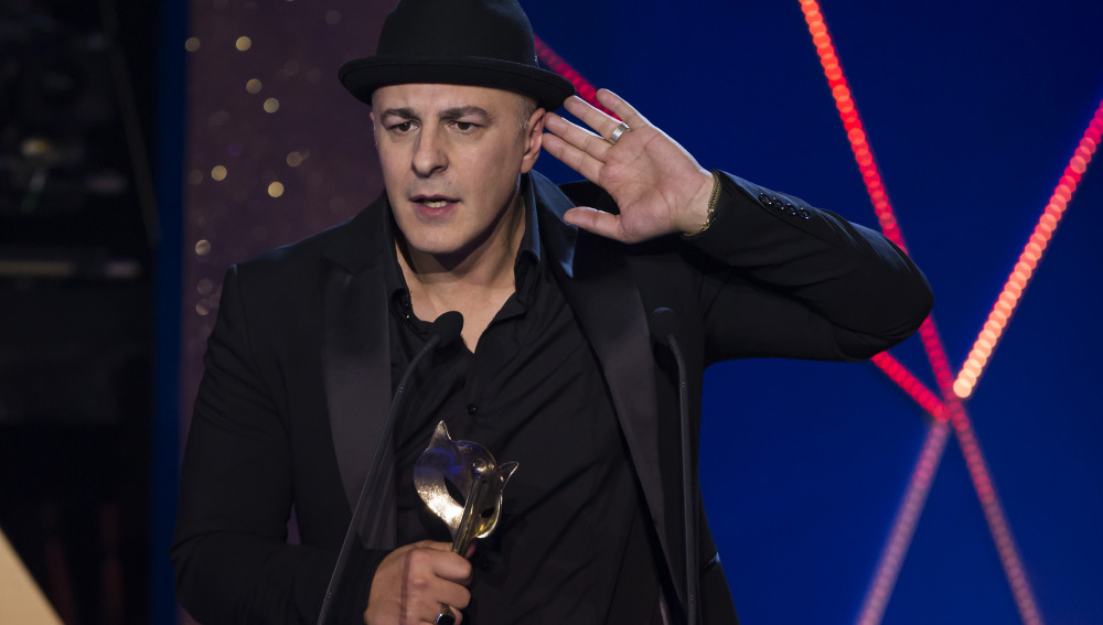 El actor Roberto Álamo recoge el Premio Feroz